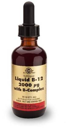 B-12 + B-Complex. Liquid. 59ml. Solgar - Vitamiinit - 06380 - 1