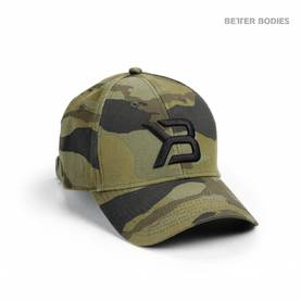 Better Bodies - BB Baseball Cap, Green Camo - Better Bodies päähineet - 02730 - 1