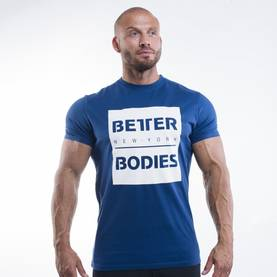 Better Bodies - Casual Tee, Navy - Better Bodies t-paidat - 02870 - 1