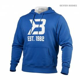 Better Bodies - Gym Hoodie, Bright Blue - Better Bodies hupparit ja takit - 02020 - 1