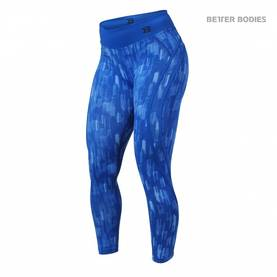Better Bodies - Manhattan High Waist Tights, Bright Blue - Better Bodies housut - 02120 - 1