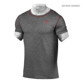 Better Bodies - Performance Tee, Antracite Melange - Better Bodies t-paidat - 01810 - 1