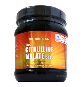 Citrulline Malate 500g.PPS Nutrition - Muut aminohapot - 00520 - 1