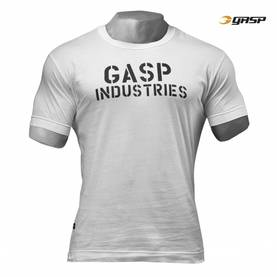GASP - Standard Issue Tee, Off White - GASP t-paidat - 02470 - 1
