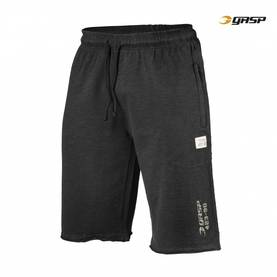 GASP - Throwback Sweatshorts, Wash Black - GASP shortsit - 01900 - 1