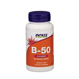 NOW Foods - B-50, 100tab - Vitamiinit - 01960 - 1