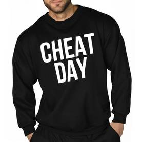 Ryderwear - Cheat Day Pull Over, Black - Ryderwear pitkähihaiset - 02570 - 1