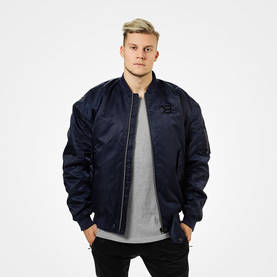 Better Bodies - Astor Bomber Jacket, Dark Navy - Better Bodies hupparit ja takit - 06170 - 1
