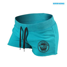 Better Bodies - Short Sweatshorts, Aqua Blue - Better Bodies shortsit - 06330 - 1
