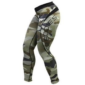 Better Bodies - Camo Long Tights - Better Bodies housut - 00501 - 1