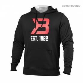 Better Bodies - Gym Hoodie, Black - Better Bodies hupparit ja takit - 02021 - 1