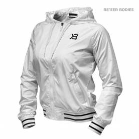 Better Bodies - Madison Jacket LIMITED, White - Better Bodies hupparit ja takit - 02461 - 1