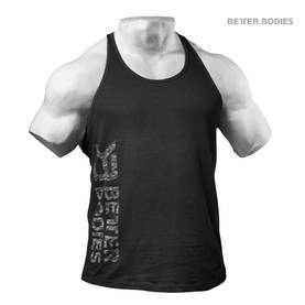 Better Bodies - Symbol Printed T-Back, Black - Better Bodies tank topit - 01501 - 1