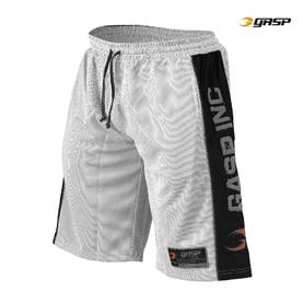 GASP - No1 Mesh Shorts, White/Black - GASP shortsit - 00041 - 1