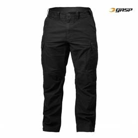 GASP - Rough Cargo Pant, Washed Black - GASP housut - 02471 - 1
