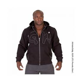 Gorilla Wear - Logo Hooded Jacket, Black - Gorilla Wear hupparit ja takit - 01891 - 1
