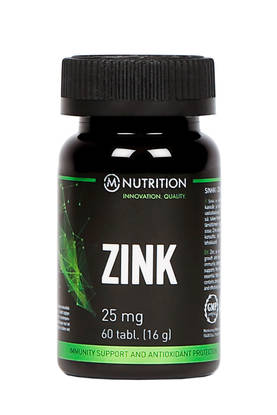 Zink 25mg, 60kaps.M-Nutrition - Vitamiinit - 01751 - 1