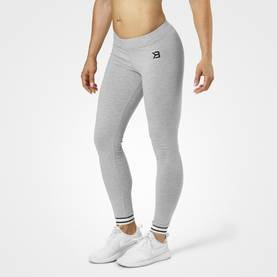 Better Bodies - Gracie Leggings, Grey Melange - Better Bodies housut - 06071 - 1