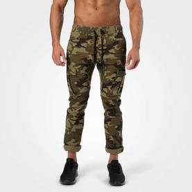 Better Bodies - Harlem Cargo Pants, Military Camo - Better Bodies housut - 06351 - 1