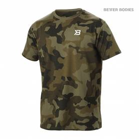 Better Bodies - Harlem Oversized Tee, Military Camo - Better Bodies t-paidat - 02832 - 1