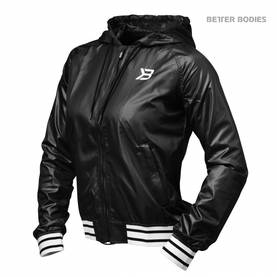 Better Bodies - Madison Jacket LIMITED, Black - Better Bodies hupparit ja takit - 02462 - 1