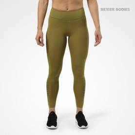 Better Bodies - Madison Tights, Military Green - Better Bodies housut - 02812 - 1