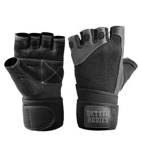 Better Bodies - Pro Wrist Wrap Glove, Black - Better Bodies varusteet - 00042 - 1