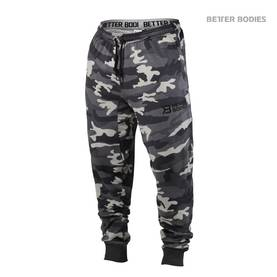 Better Bodies - Tapered Camo Pant, Grey Camoprint - Better Bodies housut - 01882 - 1
