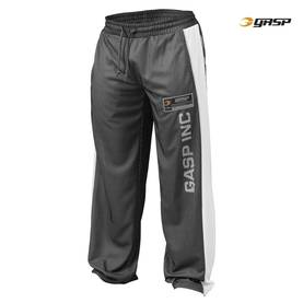 GASP - No1 Mesh Pant, Black/White - GASP housut - 00032 - 1
