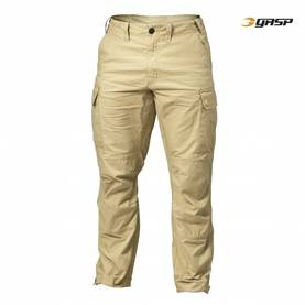 GASP - Rough Cargo Pant, Dark Sand - GASP housut - 02472 - 1