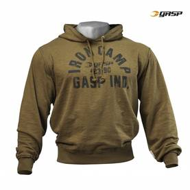GASP - Throwback Hoodie, Military Olive - GASP hupparit ja takit - 02432 - 1