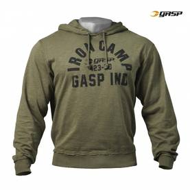 GASP - Throwback Hoodie, Wash Green - GASP hupparit ja takit - 02112 - 1
