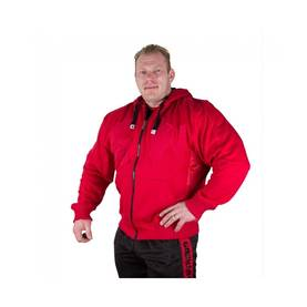 Gorilla Wear - Logo Hooded Jacket, Tango Red - Gorilla Wear hupparit ja takit - 01892 - 1