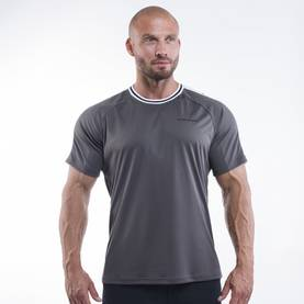 Better Bodies - Hamilton Tee, Iron - Better Bodies t-paidat - 02853 - 1