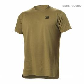 Better Bodies - Harlem Oversized Tee, Military Green - Better Bodies t-paidat - 02833 - 1