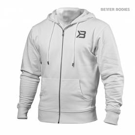 Better Bodies -  Jersey Hoodie, White - Better Bodies hupparit ja takit - 02793 - 1