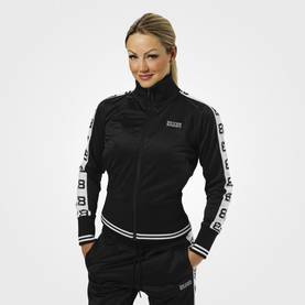 Better Bodies - Trinity Track Jacket, Black - Better Bodies hupparit ja takit - 06013 - 1