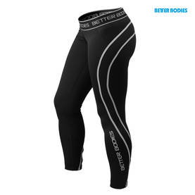 Better Bodies. Athlete Tights. Black/Grey POISTO - Better Bodies housut - 01003 - 1