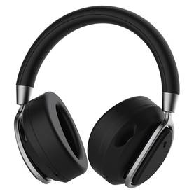 DeFunc - BT Mute Headphone Plus, Black - Langattomat kuulokkeet - 06403