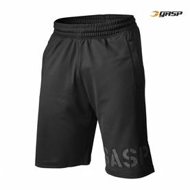 GASP - Essential Mesh Shorts, Black - GASP shortsit - 02683 - 1