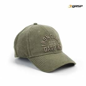 GASP - Throwback Cap, Military Olive - GASP päähineet - 02623 - 1