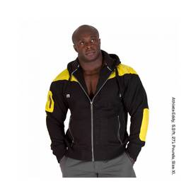 Gorilla Wear - Disturbed Jacket, Black/Yellow - Gorilla Wear hupparit ja takit - 01913 - 1