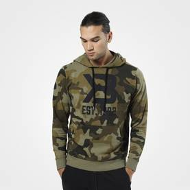 Better Bodies - Gym Hoodie, Military Camo - Better Bodies hupparit ja takit - 02874 - 1
