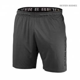 Better Bodies - Loose Function Shorts, Iron - Better Bodies shortsit - 02724 - 1