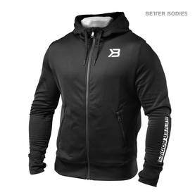 Better Bodies - Performance PWR Hood, Black - Better Bodies hupparit ja takit - 02414 - 1