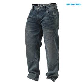 Better Bodies - Straight fit denim, Tinted blue - Better Bodies housut - 00744 - 1