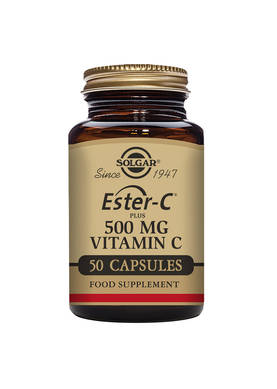 Ester-C Plus 500mg,100kaps.Solgar - Vitamiinit - 06144 - 1