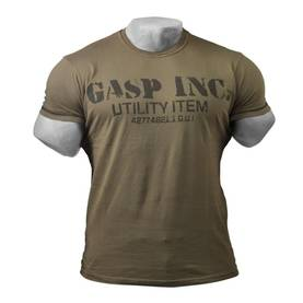 GASP - Basic Utility Tee, Washed Green - GASP t-paidat - 00944 - 1