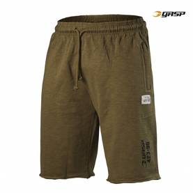 GASP - Throwback Sweatshorts, Military Olive - GASP shortsit - 02434 - 1