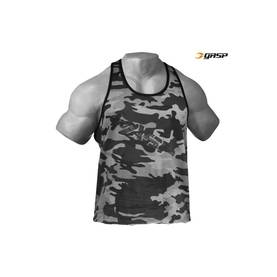 GASP - Vintage T-Back, Grey Camoprint - GASP tank topit - 01634 - 1
